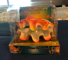 PENN PLAX ACTION-AIR GIANT CLAM #0-51 NIB REAL UNDERWATER MOVEMENT AQUARIUM