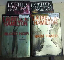 Anita Blake -Skin Trade/The Harlequin-Blood Noir-Danse Macabre (4) Books #X-1A