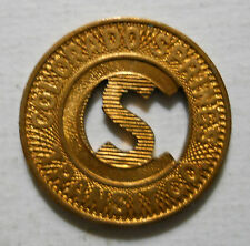 Colorado Springs Transit Company transit token - CO140H