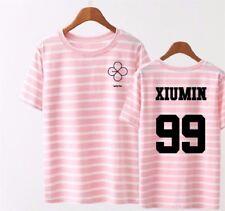 Kpop EXO T-shirt Women T-shirt LUCKY ONE MONSTER EX'ACT Chanyeol SUHO TEE