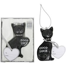 Lucky Black Cat Wedding Keepsake, Gifts for the Bride, Tradition, Luck 13590