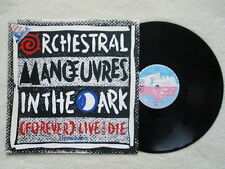 "MAXI 45T ORCHESTRAL MANOEUVRES IN THE DARK ""Forever live and die"" VIRGIN UK §"