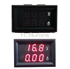 DC 0-100V 10A Voltmeter Ammeter Dual Red LED Panel Amp Digital Volt Meter Gauge