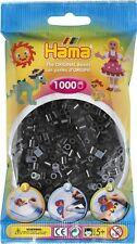 Hama - 207-18 Sachet 1000 Perles à repasser Noir