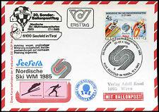 Austria 1985 Balloon Post Flight Card #C16271