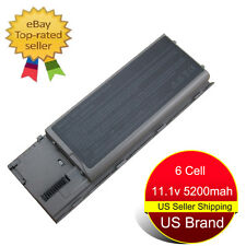 New 6 Cell Battery for Dell Latitude D620 D630 D631 D631N D640 D830N TD175 KD495