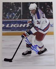 Jason Strudwick New York Rangers Islanders Blackhawks Autograph 8x10 Photo 15A