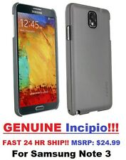 Samsung Galaxy Note 3 Case Cover Super Light Ultra Thin Soft Touch OEM Incipio