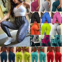 Women High Waist Yoga Pants Print Sport Leggings Fitness Gym Stretch Trousers LC