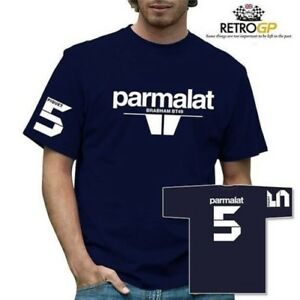 Retro GP Parmalat Brabham T-Shirt Classic Grand Prix Formula One F1