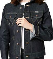 Wrangler Selvedge Jean Jacket Woman Icon XL Indigo Contrast Stitch new NWT rare