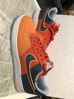 Nike Air Force 1 Low Team Orange Armory Slate Size 14 NOS 488298-800