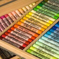 ERENGI ArtAspirer Artist Grade Oil Pastels NEW Wooden Box Set 92 Assorted Colors