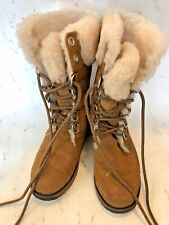 EMU Australia Tall Suede Lined Winter Boots - Size F6 Women - H5 Men