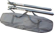 2x M20 Subwoofer / speaker extension rod / pole with bag - adjustable height