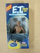 E.T. THE EXTRA TERRESTRIAL BENDABLE TOY KRAFT MACARONI & CHEESES 2002 KF HOLDING
