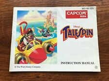 Tale Spin TaleSpin Tail NES Nintendo Instruction Manual Only