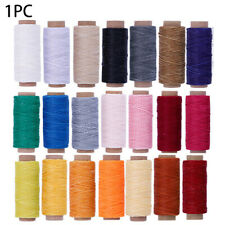 150D Hand Stitching DIY Handicraft Waxed Thread Sewing Line Cord Leather