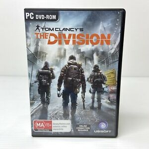 Tom Clancy's The Division - PC Game (2016) 4 Discs Great Condition!