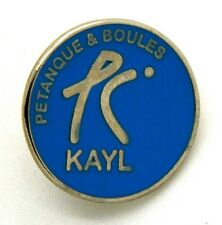 Pin Spilla Bocce - Petanque & Boules Kayl (Luxembourg) cm 2