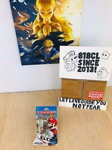Hasbro Monopoly Gamer Board Game Edition Power Pack Tanooki Mario Nintendo -RARE