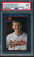 PSA 9 ADLEY RUTSCHMAN 2019 Bowman Chrome Draft 30th Anniversary Rookie RC MINT