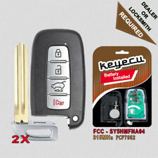 Replacement Remote Key Fob 315MHz for Hyundai Genesis Coupe Elantra 2009-2014