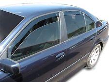 DBM11113 BMW 5 E39 Saloon 1995-2004 WIND DEFLECTORS 4pcs set HEKO TINTED