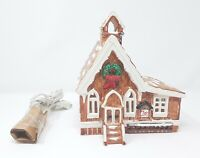 Dept 56 Snow Village Pioneer Church #5022-9 (1982-1984)-Excellent