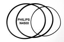 SET CINGHIE PHILIPS N4500 REGISTRATORE A BOBINE BOBINA NUOVE FRESCHE N 4500!!!