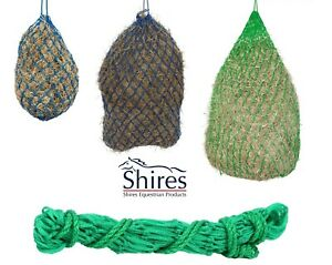 Strong Haylage HayNet Shires Small 5cms Mesh Holes Green Small Medium or Large