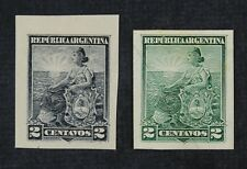 CKStamps: Latin Argentina Stamps Collection Unused H NG 1 India 1Card Proof