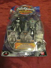 Power Rangers Operation Overdrive BLACK Sentinel Zord Ranger Action Figure