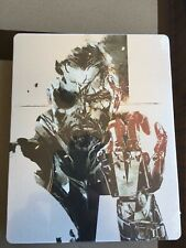 METAL GEAR SOLID V THE PANTHOM PAIN-PS4/PS3 STEELBOOK, SOLO CUSTODIA NUOVO SIGI