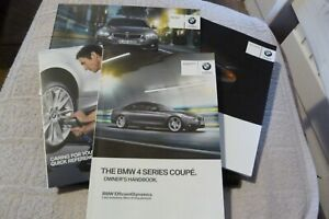 BMW 4SERIES COUPE owners manual and wallet