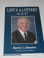 Life's A Lottery by Barrie Johnston/Royal Marines/Epsom/REME/Army/Soldier/Signed