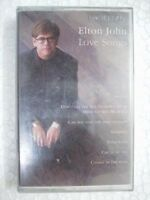 ELTON JOHN LOVE SONGS RARE CASSETTE INDIA SEALED FEB 1999