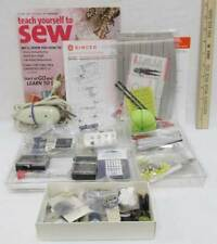 Sewing Notions Craft Lot Buttons Needles Pins Electric Scissors Snaps Thimbles