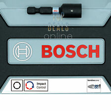 """*NEW* 2017 Bosch 8mm Magnetic Nut Driver 50mm x1 Torsion Impact Control Hex 1/4"""""""