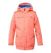New 2015 DC Womens Riji Insulated Snowboard Jacket Medium Fiery Coral