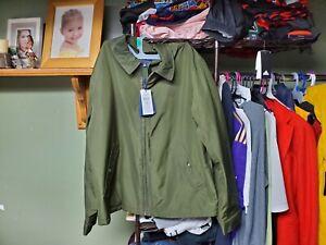 Ralph Lauren Polo Primaloft Water Repellent Zip Up Jacket Mens Medium Color...
