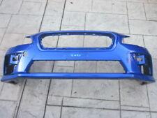2015-2017 SUBAR WRX, WRX STI Front Bumper Cover OEM Blue  57704VA000
