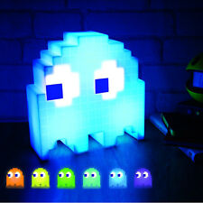 Official USB Pac-Man Colour Changing Ghost Light Lamp - Boxed Music Flash Retro