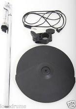 "Roland CY8 Electronic Dual Trigger 12"" Cymbal + Mount/Arm + Rack Clamp + Lead"