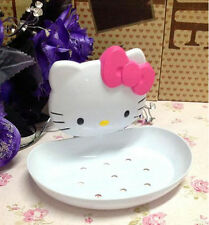 Cute cat Hello Kitty Box Dish with Soap tray boxes for Bathroom accessories