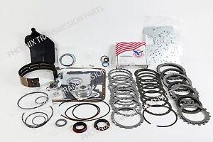 4L60E Master Rebuild Kit 1997-2003 Alto PowerPack High Performance Band VB Plate