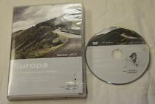 GENUINE AUDI RNS-E SAT NAV NAVIGATION DVD CENTRAL EAST EUROPE 1 DISC 2012