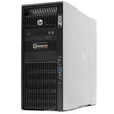 Hp Z820 Workstation 2x Xeon E5-2690 64gb Ram 256gb SSD 3tb Sata Quadro 4000 W10