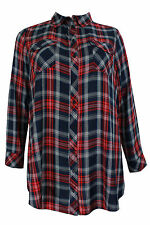 Evans Semi Fitted Viscose Tops & Shirts Size Plus for Women