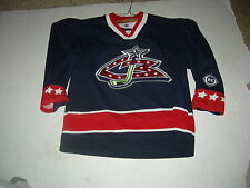 Columbus Blue Jackets Youth L/XL OLD-STYLE KOHO Jersey GR8 QUALITY GIFT 4 JUNIOR
